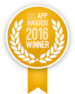 Elue meilleure application 2016 aux App Awards